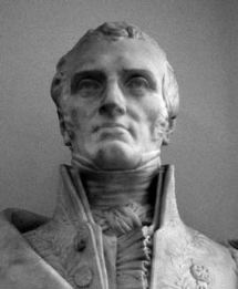 Bust of Navier
