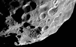 NASA photo of Saturn's moon Phoebe