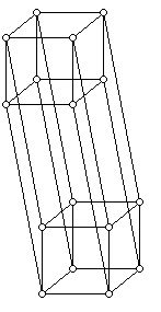 The graph of a 4-cube