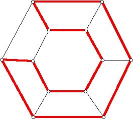 A Hamiltonian circuit for a hexagonal prism
