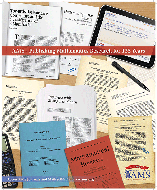 AMS- publishing mathematics research for 125 years