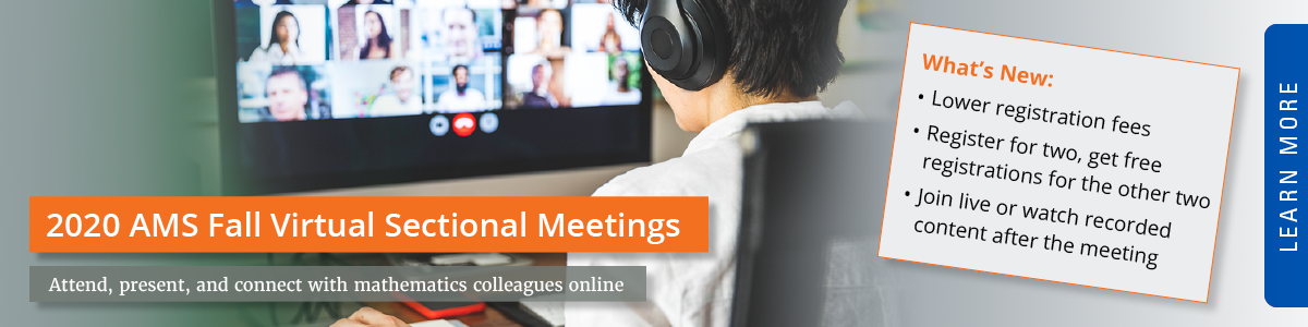 AMS Virtual Sectional Meetings