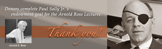 Arnold Ross Lectures