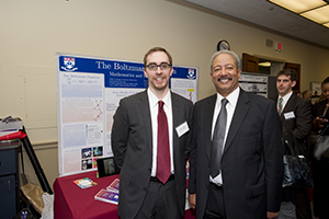 Prof. Philip Gressman with Rep. Chaka Fattah (PA-2)