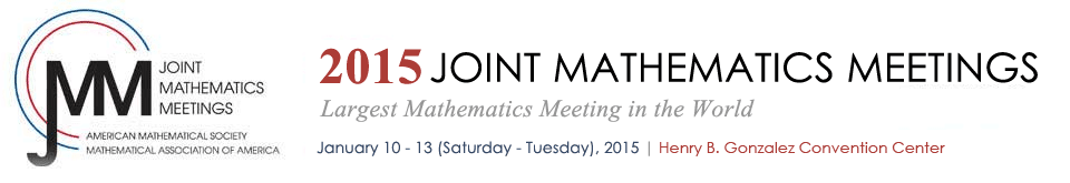 2015 Joint Mathematics Meetings
