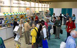 AMS exhibit area