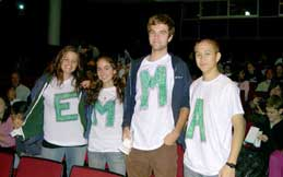 Friends Seminary students spell Emma