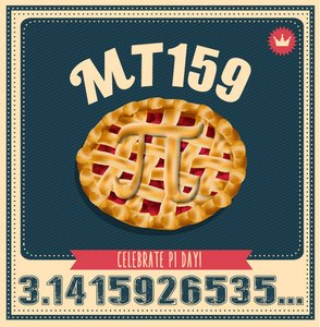 AMS Bookstore Pi Day Sale
