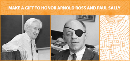 Arnold Ross Lectures endowment
