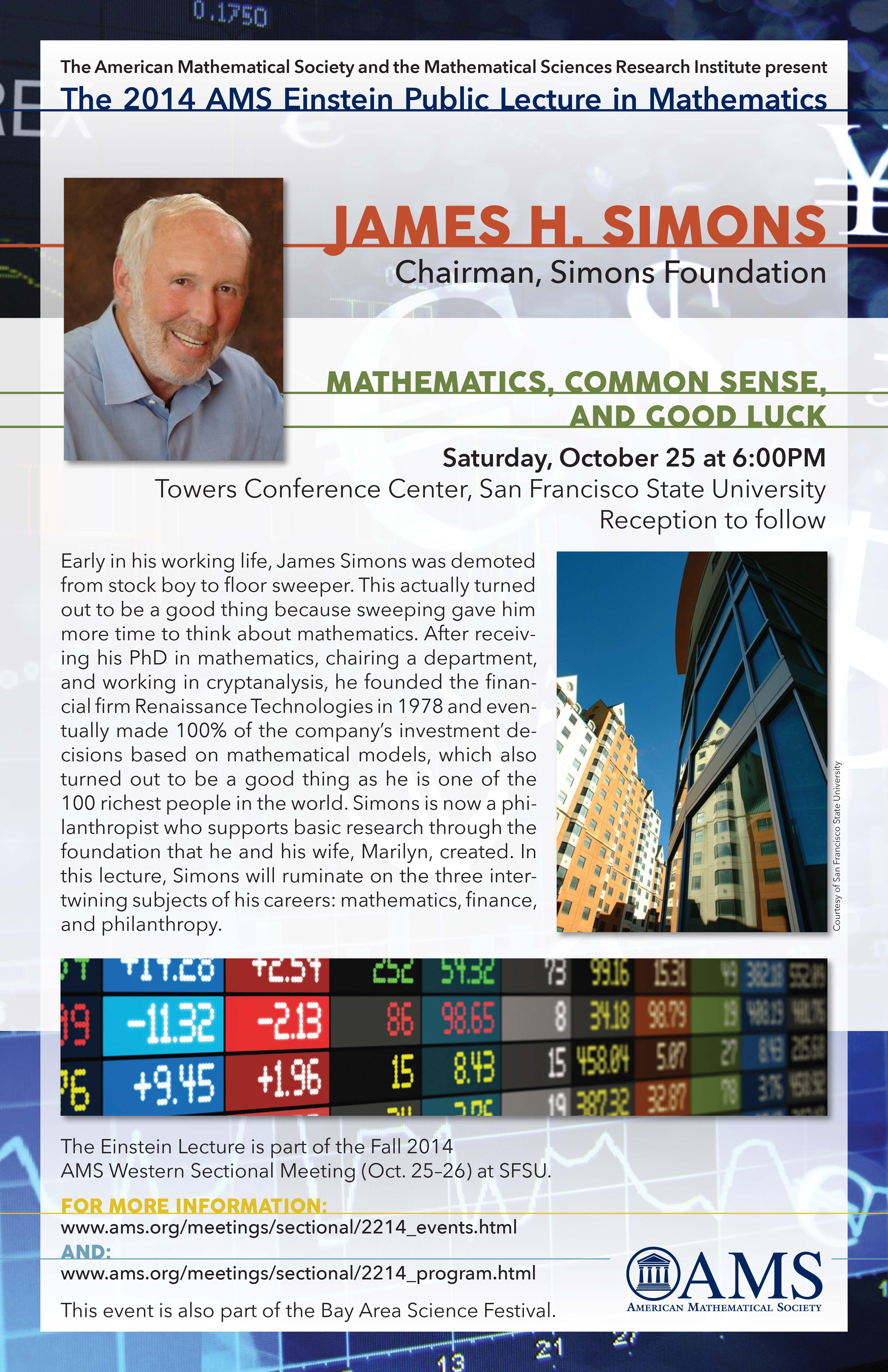 James H Simons  Simons Foundation