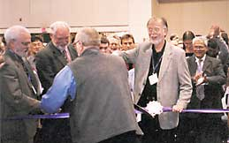 Grand opening of the Exhibits