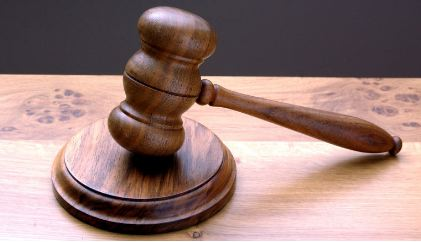 Photo of an auctioneer's gavel