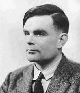 Photo of Alan Turing