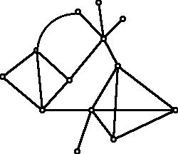 Diagram of a graph