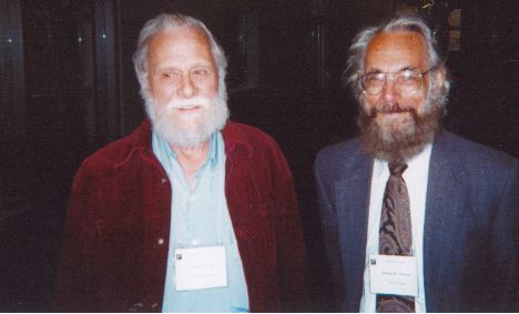 Photo of D.W. Crowe and Norman Johnson
