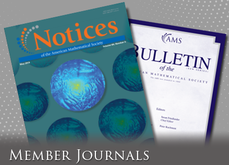 Free journals for members of the AMS