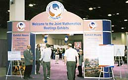 Entrance to the Exhibit Hall