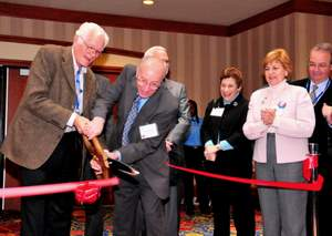 the Grand Opening of the Exhibit Hall