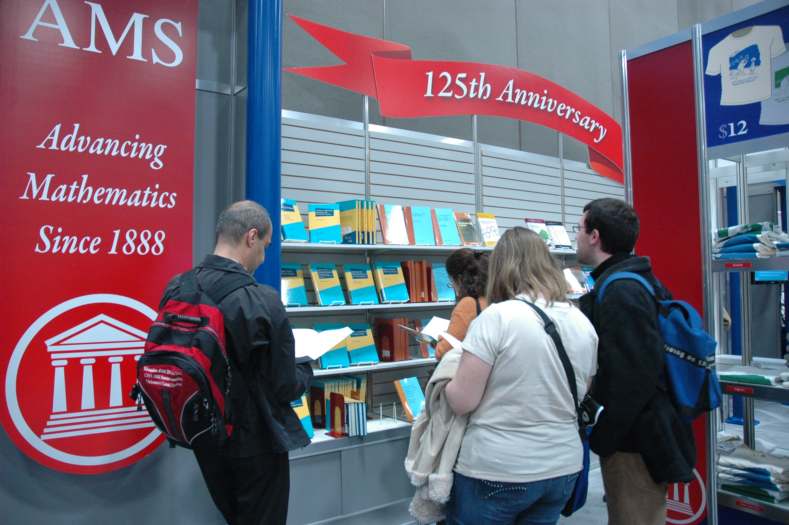 AMS exhibit at JMM 2013