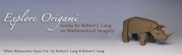 Explore Origami works by Robert J. Lang on Mathematical Imagery