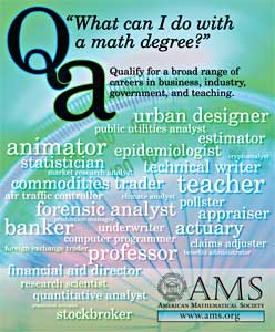 What can I do with a math degree?