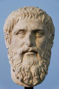 Bust of Plato, Wikimedia Commons