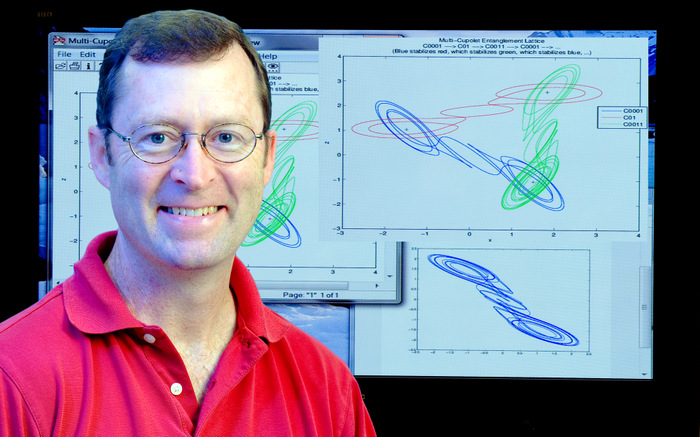 university of new hampshire mathematics professor kevin short left has combined a clroom focus on real world applications with real world success in
