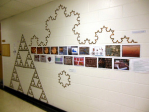 Math curves using pennies