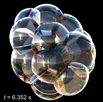 Visualization of bubbles