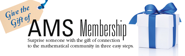 Give the Gift of AMS Membership