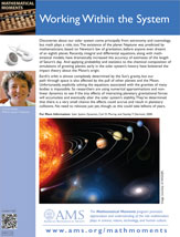 Moment on math and the solar system
