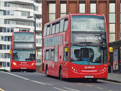 Buses bunching up