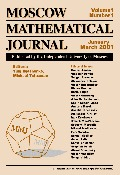 Moscow Mathematical Journal