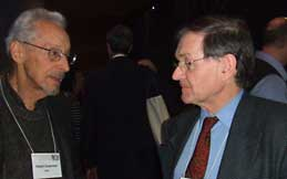 Robet Osserman and Sir Roger Penrose