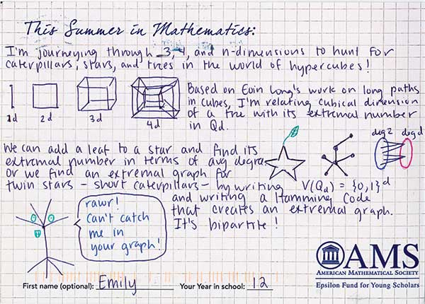 postcard math camp
