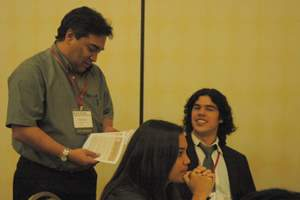 Ricardo Cortez at SACNAS 2011