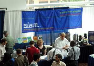 SIAM booth