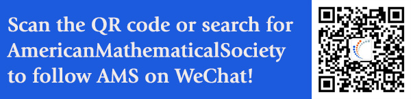 AmericanMathematicalSociety on WeChat