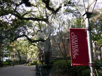 The College of Charleston campus