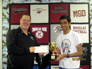 Principal Ty Thompson and Vivek