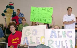 Alec's rooting section from Hellgate