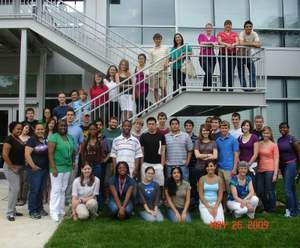 Students at NCSU REU