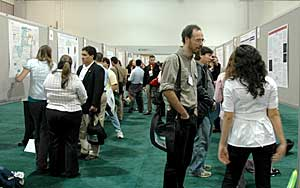 undergrad poster presenters at the 2008 national SACNAS conference