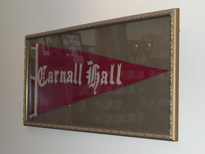 Pennant at U of A's Carnall Hall