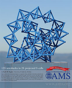AMS 125th anniversary commemorative poster