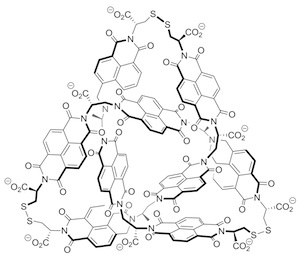 detailed molecular structure of right trefoil