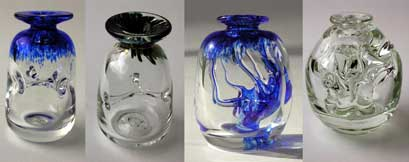 Glass blown by Martin Demaine