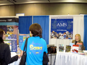 AMS booth