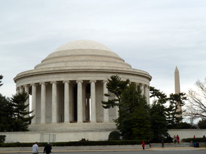 Jefferson and Washington Monuments