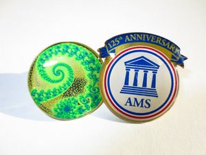 AMS 125th anniversary pin